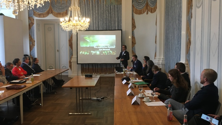Bioeconomy day at Hohenheim Castle: