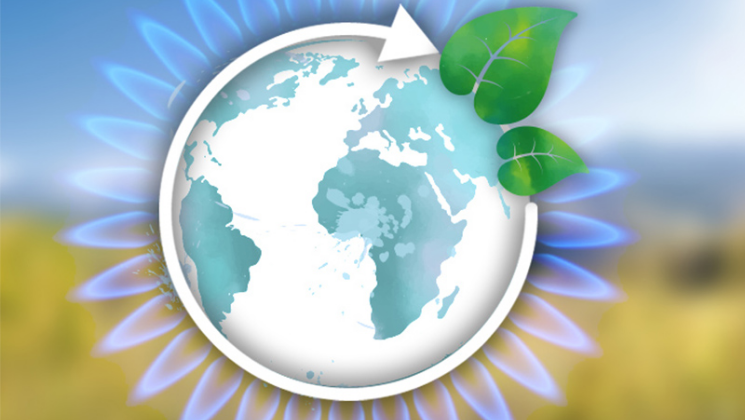 Biogasgewinnung nach dem Kreislaufprinzip