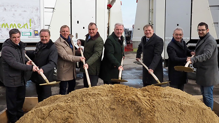Ground-breaking ceremony in Vienna Neustadt